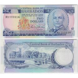 (30a) Barbados. 1980. 2 Dollars (SC)