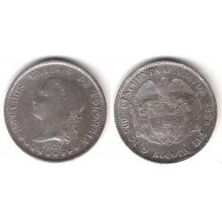 (177.1) Colombia. 1881. 50 Centavos (MBC) (Plata)