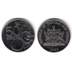 (33) Trinidad y Tobago. 2003. 50 Cents (SC)