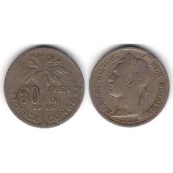 (23) Congo Belga. 1926. 50 Centimes (MBC)