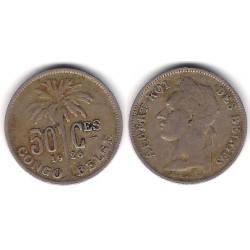 (22) Congo Belga. 1926. 50 Centimes (MBC)