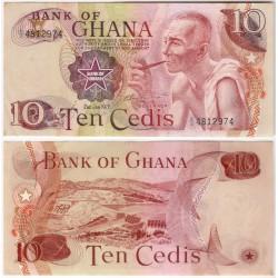 (16f) Ghana. 1978. 10 Cedis (EBC+)
