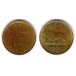 (1) Ruanda-Burundi. 1961. 1 Franc (MBC-)