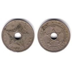 (17) Congo Belga. 1921. 5 Centimes (MBC)
