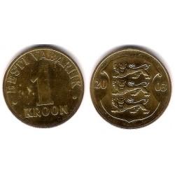(35) Estonia. 2003. 1 Kroon (MBC)