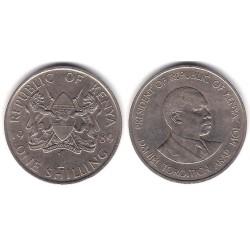 (20) Kenia. 1989. 1 Shilling (MBC)