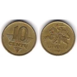 (106) Lituania. 1999. 10 Centu (MBC)