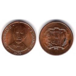 (48) República Dominicana. 1979. 1 Centavo (EBC)