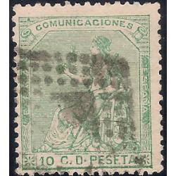 (133) 1873. 10 Céntimos. Alegoría de España (Usado)