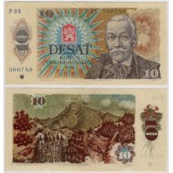 (94b) Checoslovaquia. 1986. 10 Korun (EBC)