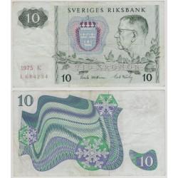 (52c) Suecia. 1975. 10 Kronor (MBC-)