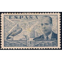(886) 1939. 4 Pesetas. Juan de la Cierva (Usado)