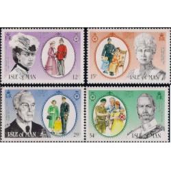(287 a 290) Isla de Man. 1985. Serie Completa. Presidents (Nuevo)