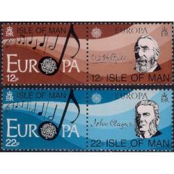 (282 a 283) Isla de Man. 1985. Serie Completa. Europa (Nuevo)