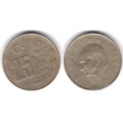 (1041) Turquía. 1996. 25 Bin Lira (MBC)