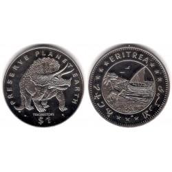 (10) Eritrea. 1993. 1 Dollar (SC)