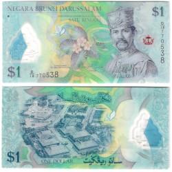 (35a) Brunei. 2011. 1 Dollar (SC)