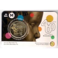 Bélgica. 2019. 2,50 Euro (SC)