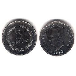 (154b) El Salvador. 1993. 5 Centavos (EBC)