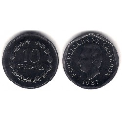(155) El Salvador. 1987. 10 Centavos (SC)
