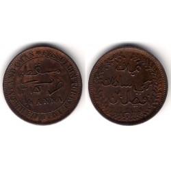 (12.2) Muscat & Oman. 1315H. ¼ Anna (EBC)