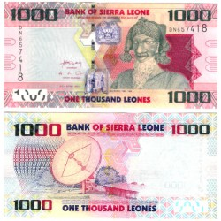 (30a) Sierra Leona. 2010. 1000 Leones (SC)