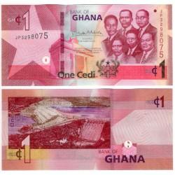 (37h) Ghana. 2019. 1 Cedi (SC)