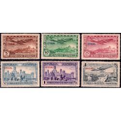 (630 a 635) 1931. Serie Completa. III Congreso UPP (Nuevo, con marca de fijasellos)
