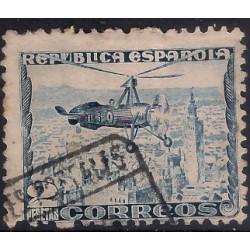 (689) 1935. 2 Pesetas. Autogiro La Cierva (Usado)