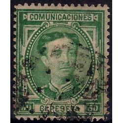 (179) 1876. 50 Céntimos. Alfonso XII (Usado)