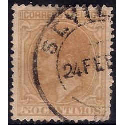 (206) 1879. 50 Céntimos. Alfonso XII (Usado)