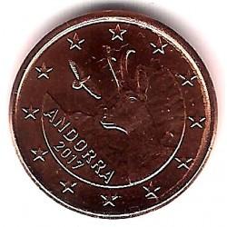 Andorra. 2017. 1 Céntimo (SC)