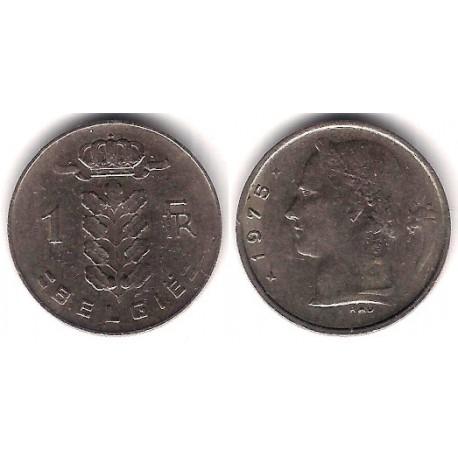 (143.1) Bélgica. 1975. 1 Franc (MBC)