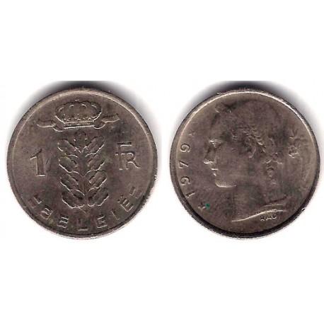 (143.1) Bélgica. 1979. 1 Franc (MBC)