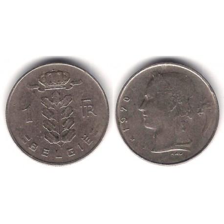 (143.1) Bélgica. 1970. 1 Franc (MBC)