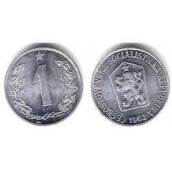 (51) Checoslovaquia. 1963. 1 Haler (SC)