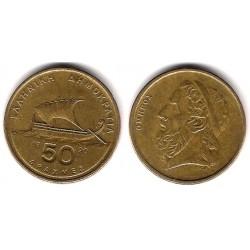 (147) Grecia. 1990. 50 Drachma (MBC)