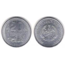 (23) Laos. 1980. 20 Att (SC)