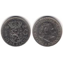 (184a) Países Bajos. 1969. 1 Gulden (MBC-)