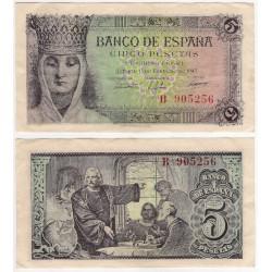 Estado Español. 1943. 1 Peseta (EBC+) Serie C
