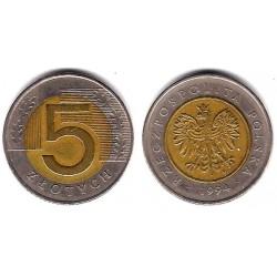 (284) Polonia. 1994. 5 Zlotych (BC)