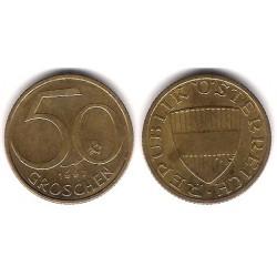 (2885) Austria. 1997. 50 Groschen (MBC)