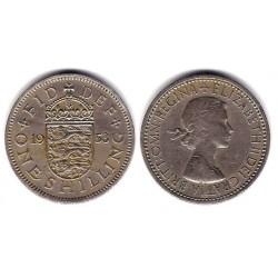 (904) Gran Bretaña. 1953. 1 Shilling (BC)