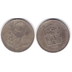 (75) Checoslovaquia. 1982. 2 Koruny (MBC)