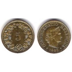 (26c) Suiza. 1983. 5 Rappen (EBC)