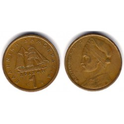 (116) Grecia. 1976. 1 Drachma (MBC-)