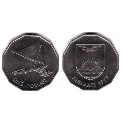 (7) Kiribati. 1979. 1 Dollar (EBC+)