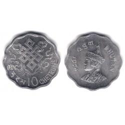 (38) Bhutan. 1974. 10 Chetrums (SC)