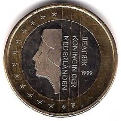 Países Bajos. 1999. 1 Euro (SC)