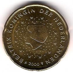 Países Bajos. 2000. 20 Céntimos (SC)